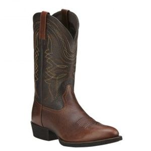Ariat Mens Cowboy Western Comback Boots Round Toe